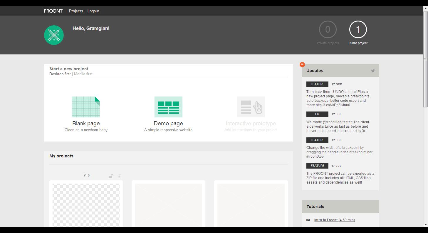 A Responsive website by gramglan